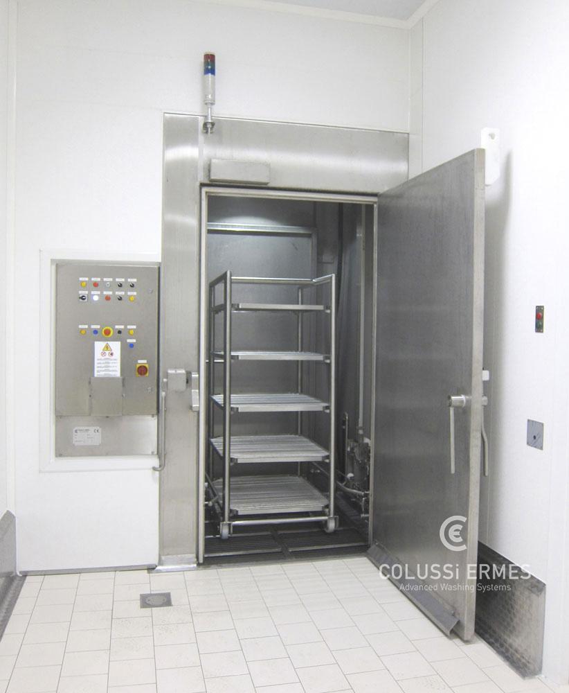 Instalación para la desinfección de embutidos Colussi Ermes
