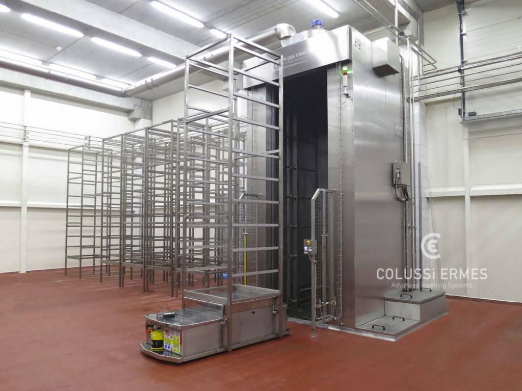 Instalación para la desinfección de embutidos - 12 - Colussi Ermes