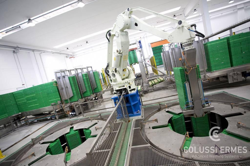 Centrifugadora para secado de cajas - 1 - Colussi Ermes
