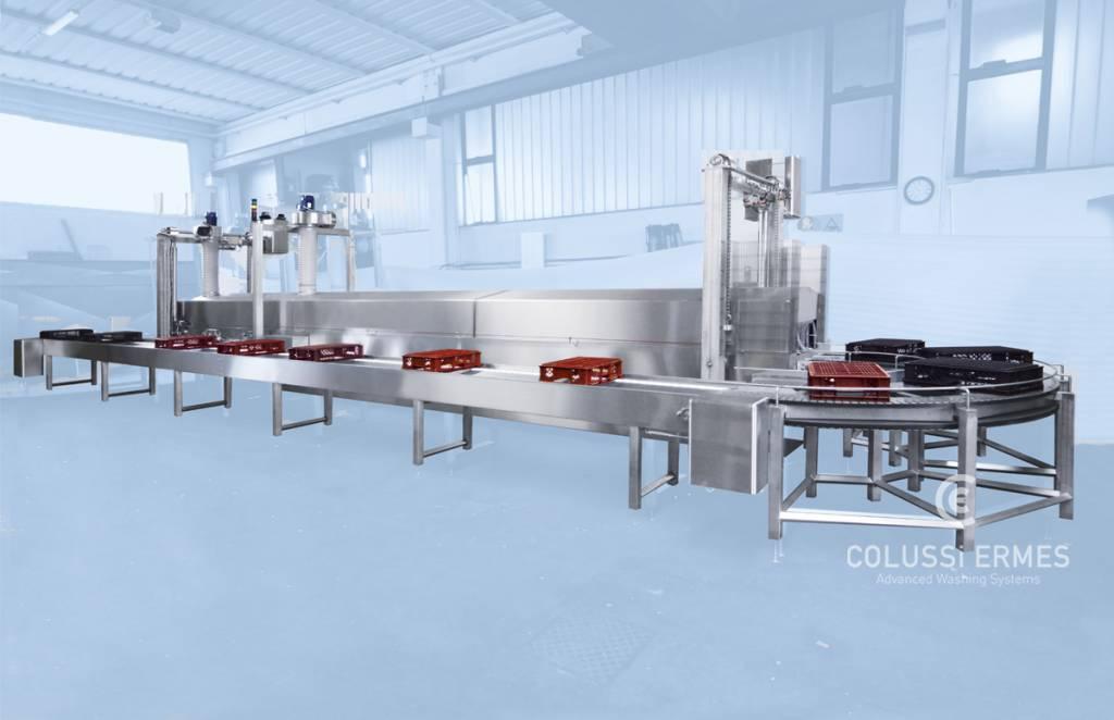 Lavadora de cajas - 24 - Colussi Ermes