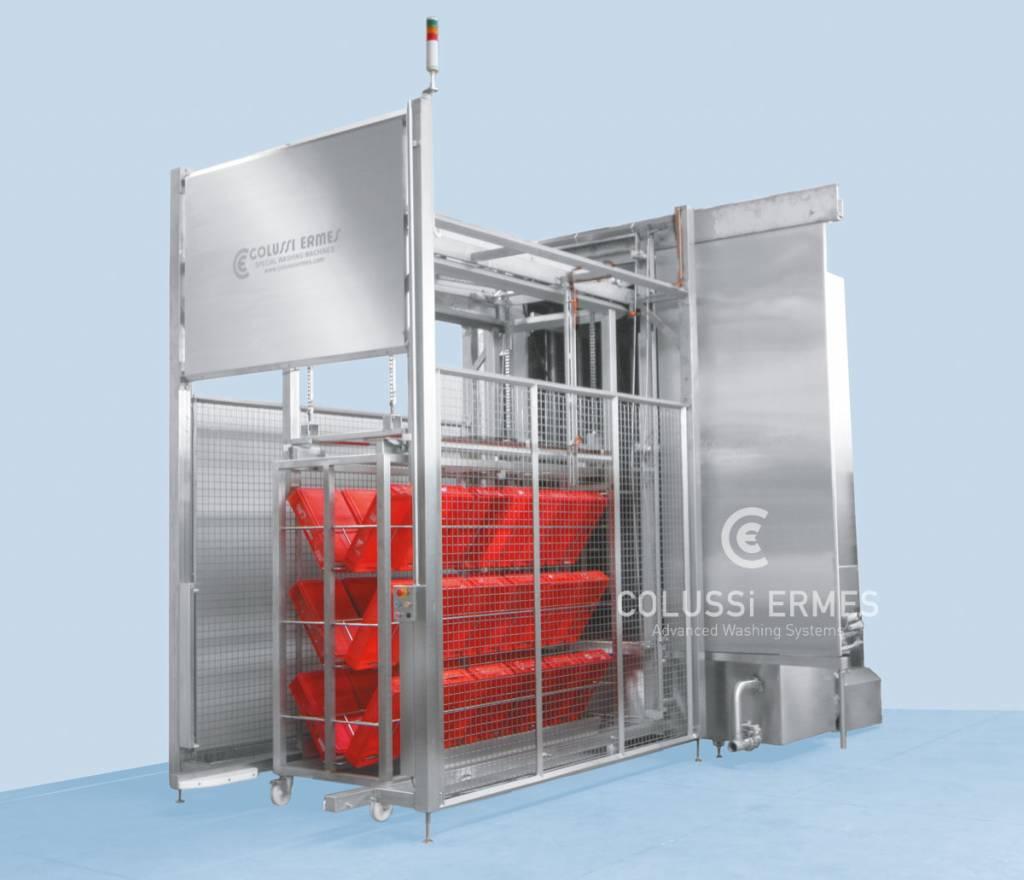 Lavadora de cajas - 36 - Colussi Ermes