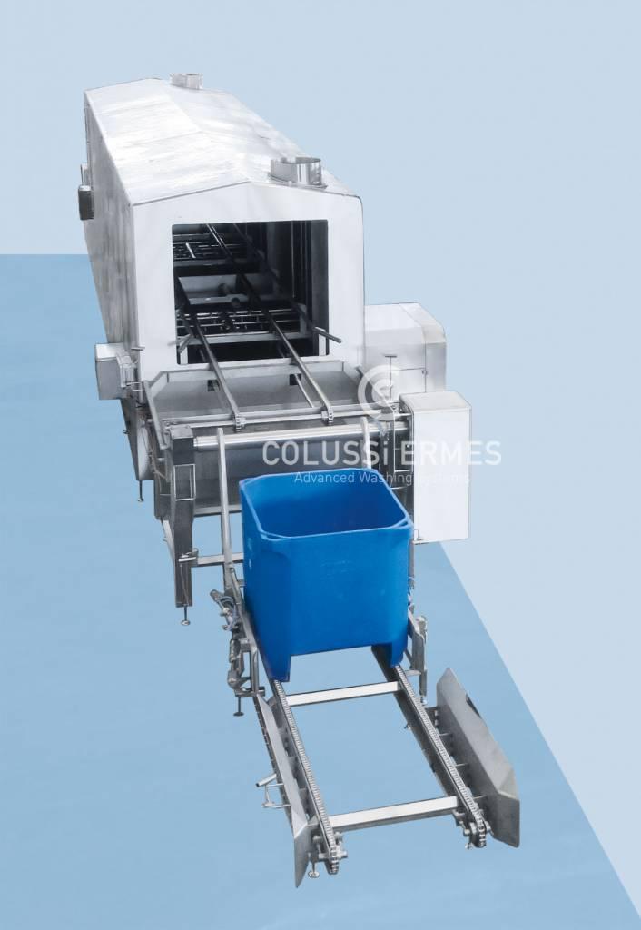 Lavadora de cajones Colussi Ermes