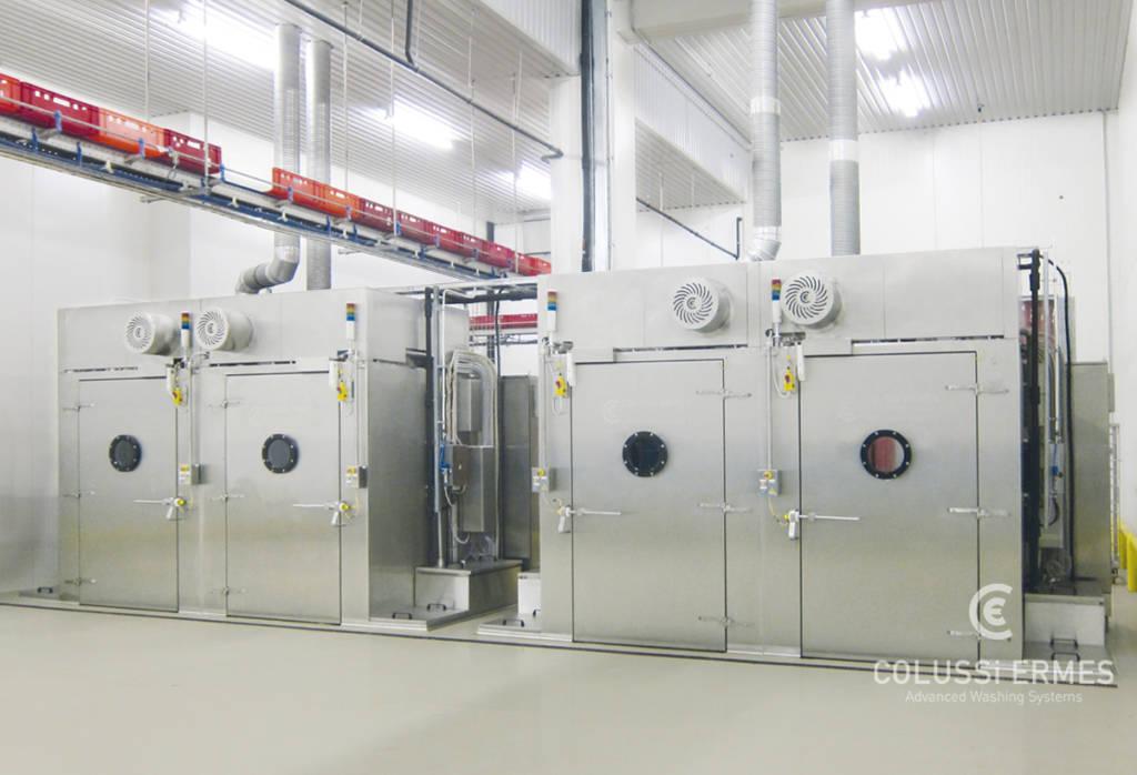 Lavadora de bandejas - 17 - Colussi Ermes