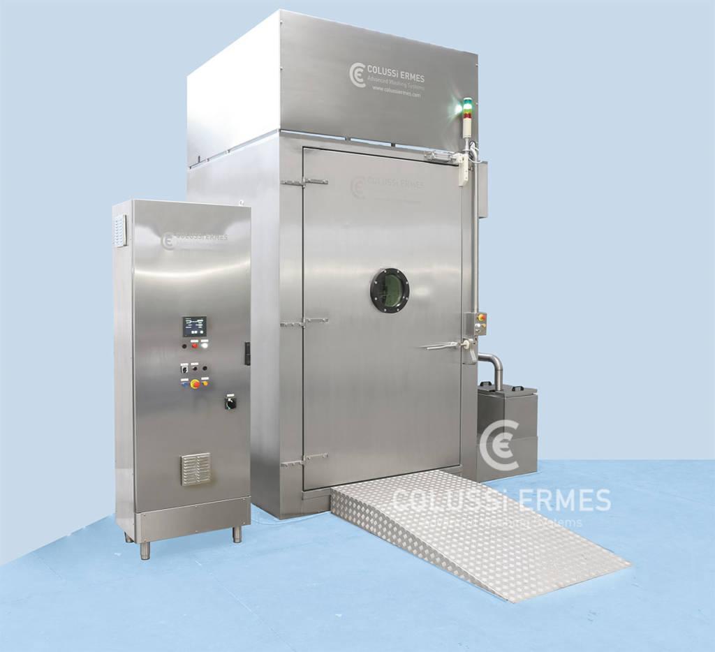 Lavadora de bandejas - 18 - Colussi Ermes