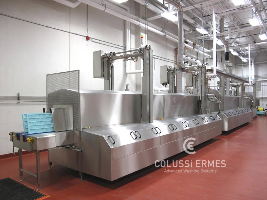 Lavadora de moldes de chocolate - 2 - Colussi Ermes